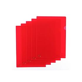 カラークリアーホルダーA4 紅 F−78