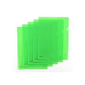 カラークリアーホルダーA4 黄緑 F−78