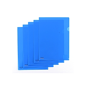 カラークリアーホルダー 1枚 A4 F−78 青