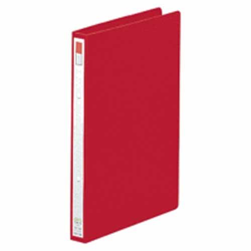 リングファイルA4縦 F−867 赤 1冊 204984