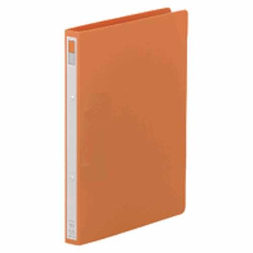 リングファイルA4縦 F−867 橙 1冊 204986