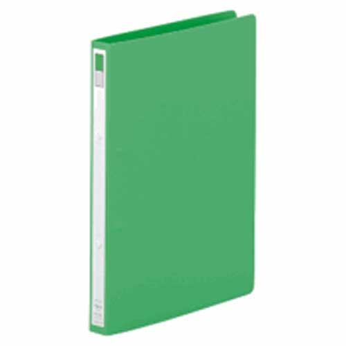 リングファイルA4縦 F−867 黄緑 1冊 204988