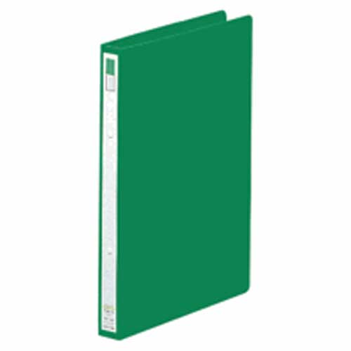 リングファイルA4縦 F−867 緑 1冊 204989