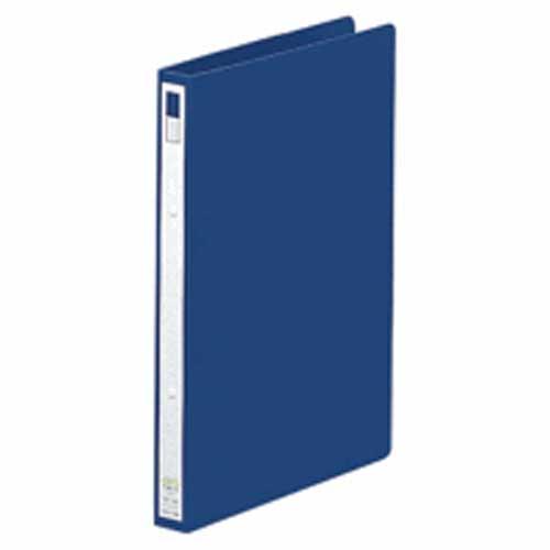 リングファイルA4縦 F−867 藍 1冊 204992