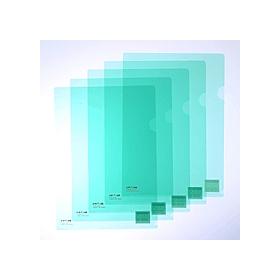 カラークリアーホルダー 1枚 A4 F−78クリスタルグリーン