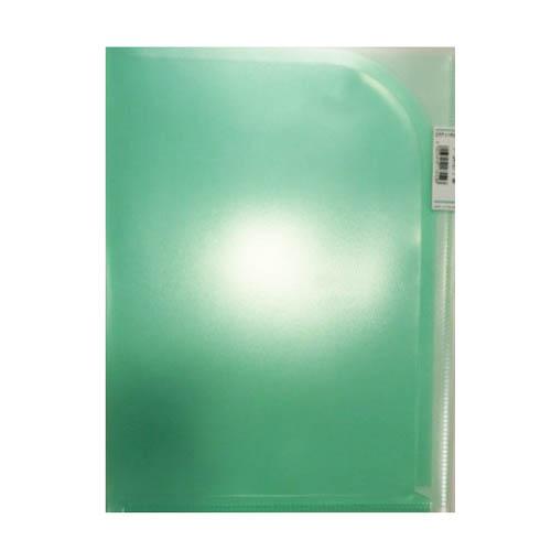 2ポケットホルダー緑F3410−7