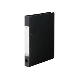 リクエスト・D型リングファイルA4縦2穴 230枚収容 黒 305773