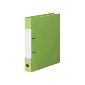リクエスト・D型リングファイルA4縦2穴 350枚収容 黄緑 305777