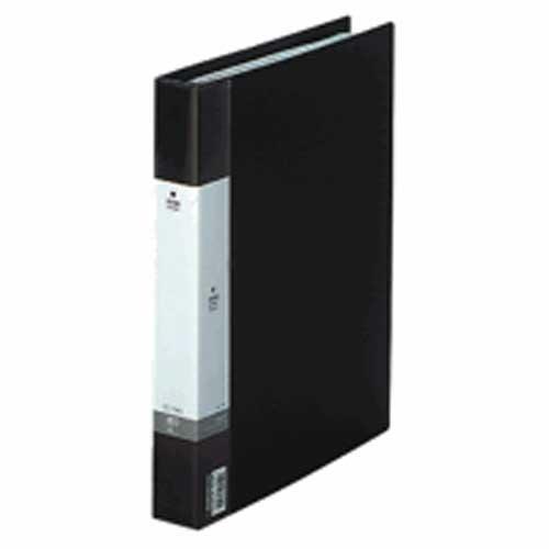リクエスト名刺帳A4縦 ポケット数500枚 背幅35mm 黒 204462