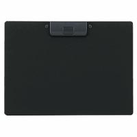 クリップボード<捺印対応> A4ヨコ 黒 A−2985−24 220791