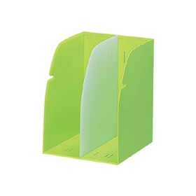 ブックスタンド 黄緑 G1620−6 328354