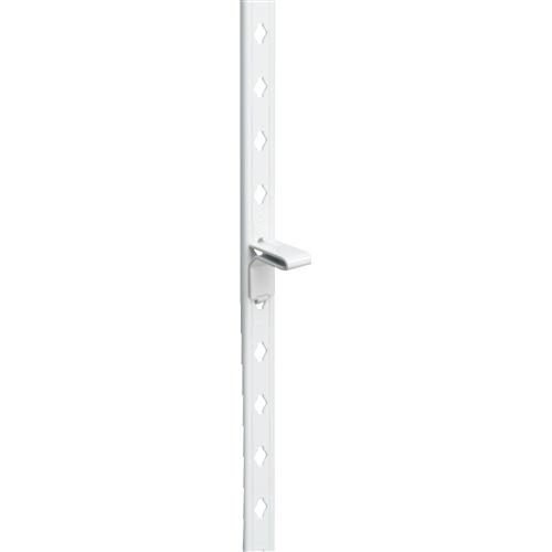 フィット棚支柱 白 650mm WLS−014W
