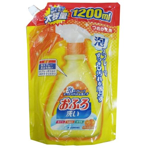 おふろの洗剤 つめかえ用特大 1200ml
