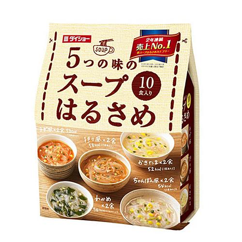 5つの味のスープ春雨 10食入り
