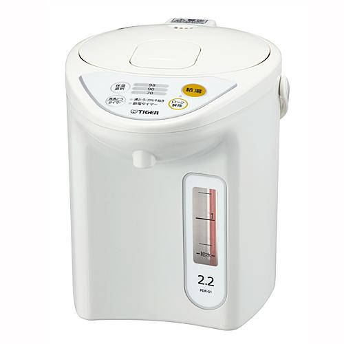 タイガー マイコン電動ポット 2.2L PDR−G221W