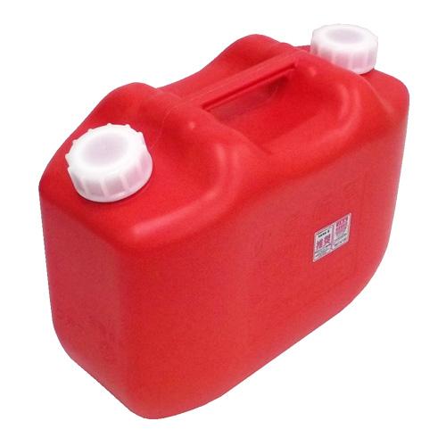 灯油缶 10L レッド KT−002