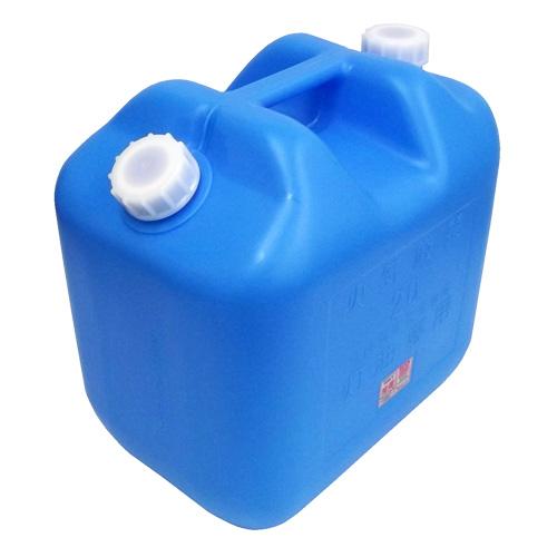 灯油缶 20Lワイド ブルー