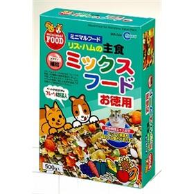 【 めちゃ早便 】☆ リス・ハムの主食ミックスフード 500g