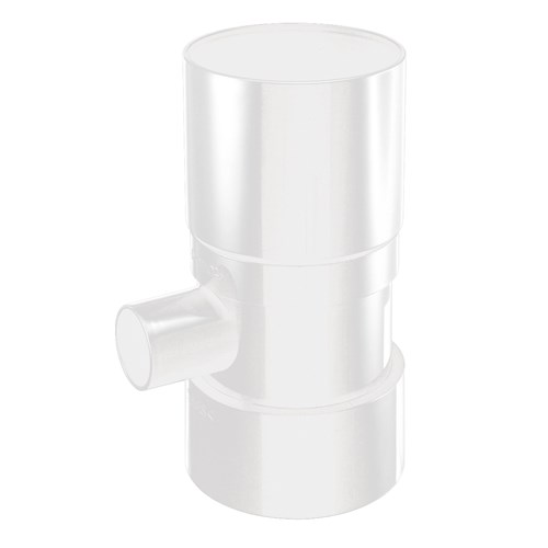 雨水集水継手 白 120〜200L アメマルシェ用