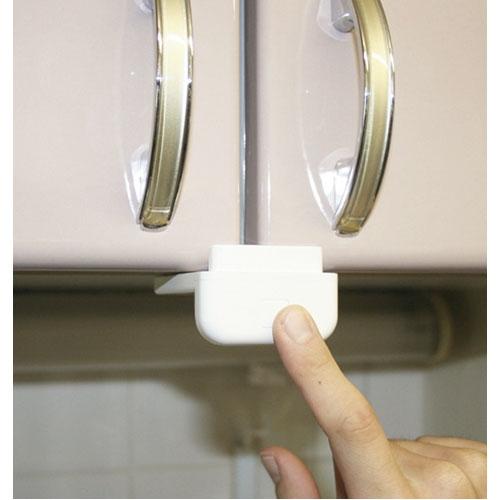スーパー閉じるポン 吊戸棚用耐震ロック