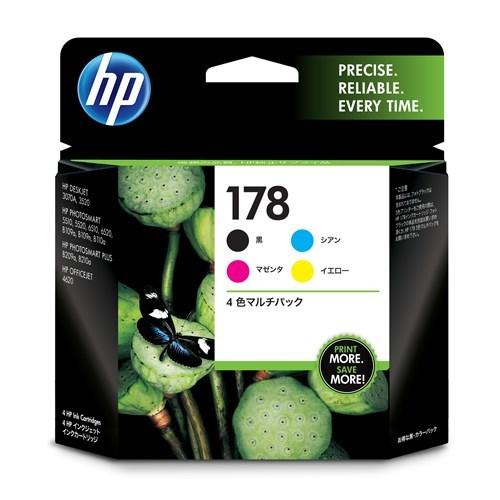 インクカートリッジ HP178 4色マルチ