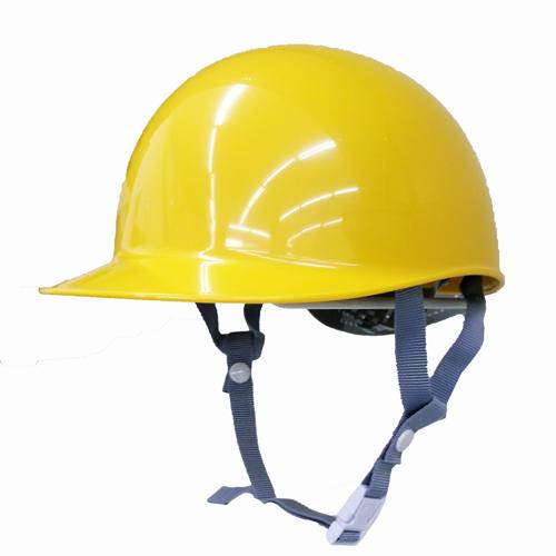 耐電ヘルメット黄 野球帽型 STー164E