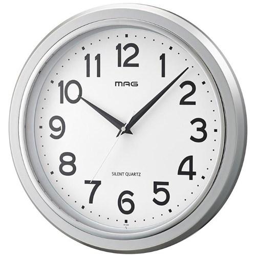 MAG掛時計モアマグ 銀メタ