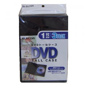 エレコム DVDトールケース CCD-DVD01BK