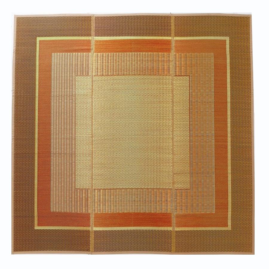 イケヒコ・コーポレーション(IKEHIKO)  普通織ラグ  ランクス ベージュ各サイズ(95×150/140×200/176×230/191×191/191×250)
