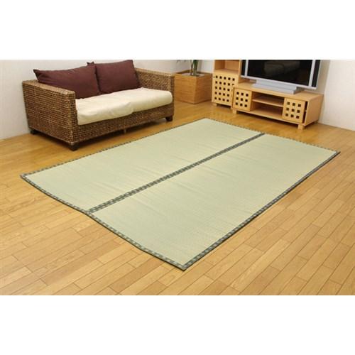 イケヒコ・コーポレーション(IKEHIKO)  純国産 双目織 い草上敷 『松』 団地間4.5畳 約255×255cm