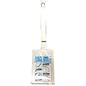 トイレブラシケース付 ホワイト HC−01 WHITE