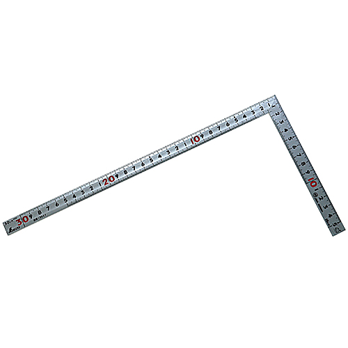 シンワ曲尺 シルバー 名作同厚同目30CM