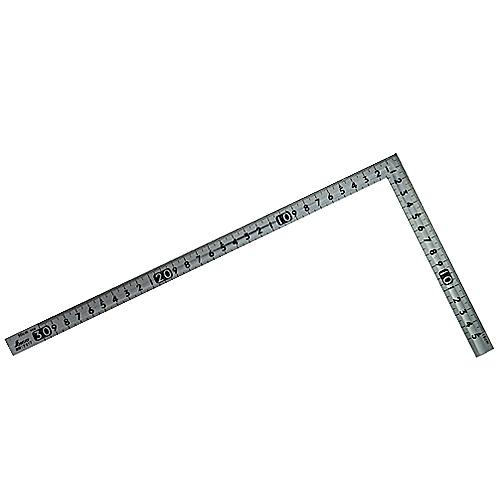 シンワ小型曲尺 溝付15×30cm