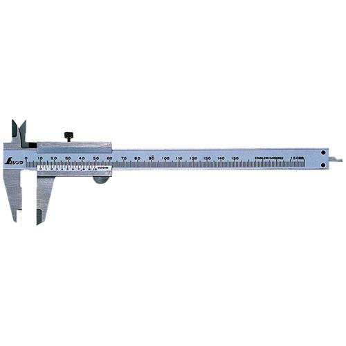 シンワ測定普及ノギス 15cm