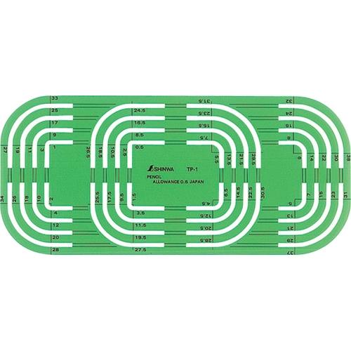 シンワテンプレート TP−1 コーナー定規