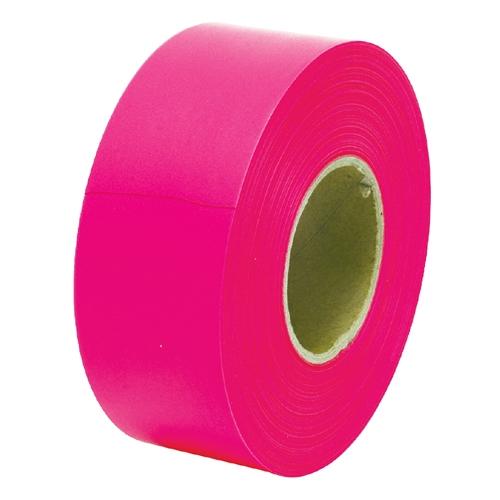 マーキングテープ蛍光 ピンク