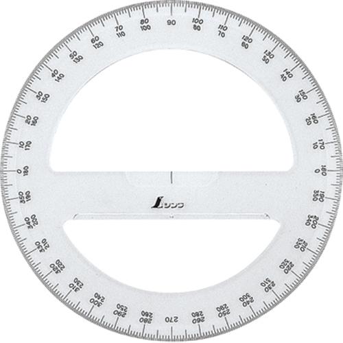 シンワアクリル 分度器360°