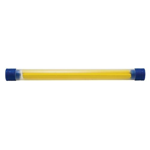 シンワ測定ノック式クレヨン替芯4.0mm 黄