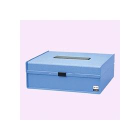 プラスチック印箱 大型 幅202×奥行168×高さ86mm 320334