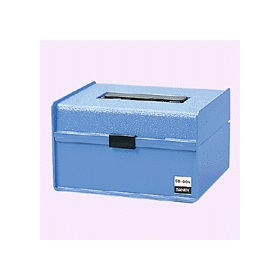 プラスチック印箱 小型 幅136×奥行110×高さ86mm 320332