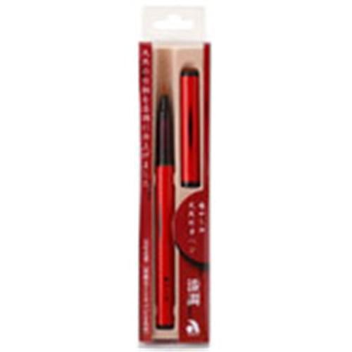 天然竹筆ペン漆調赤軸AK2000UP−RD