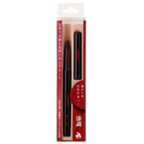 天然竹筆ペン漆調黒軸AK2000UP−BK