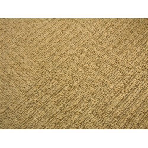 防炎折りたたみカーペット『ブロックス�U』 ブラウン 江戸間6帖(約261×352cm)
