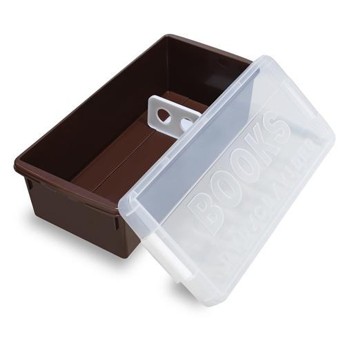 ブックメディアケース I−540 チョコブラウン