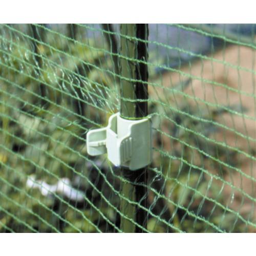 菜園かんたんパッカー 20mm支柱用 50個入り ライトグリーン