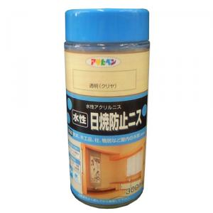 アサヒペン(Asahipen) 水性日焼防止ニス 透明 300ml