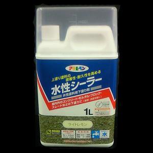 アサヒペン(Asahipen) 水性シーラー ライトレモン 1L