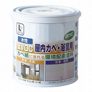 コーナン オリジナル 水性屋内カベ・浴室用 バニラホワイト 0.7L