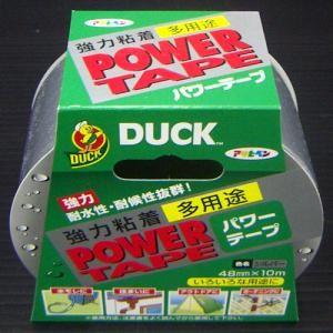 アサヒペン(Asahipen) DUCKパワーテープ シルバー 48mm×約10m