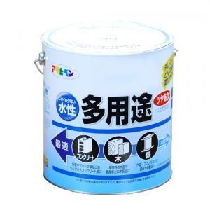 アサヒペン(Asahipen) 水性多用途 ツヤあり 空色 3L